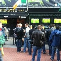 Photo taken at Sinnotts Bar by Martin H. on 6/24/2012