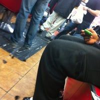 Photo taken at Sanchez Barbershop by Marcus D. on 11/23/2011