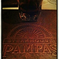 Photo taken at Pampas Argentine Steakhouse by Randy K. on 1/1/2012