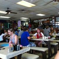 Photo taken at Beach Hut Cafe by Kristen S. on 7/31/2011