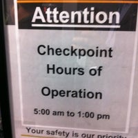 Photo taken at Terminal C Security Checkpoint by Chris G. on 12/12/2011