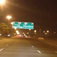 Photo taken at Al Khawaneej Road شارع الخوانيج by Abdulla B. on 7/1/2012