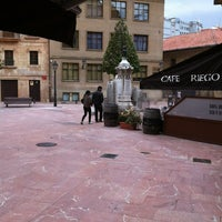 Photo taken at Plaza de Riego by Moisés C. on 4/22/2012