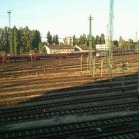 Photo taken at Ferencváros vasútállomás by Fercsó M. on 10/13/2011