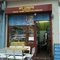 Photo taken at My Crêpe by Ronan L. on 12/16/2011