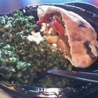 Photo taken at Pita Pita by Kristina L. on 1/17/2012