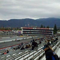 Photo taken at AAA Auto Club Raceway by Chris E. on 11/12/2011