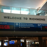 Photo taken at Richmond International Airport (RIC) by Chris R. on 7/19/2012