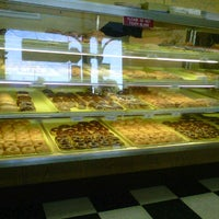 Photo taken at MJ's donuts by Michael C. on 11/5/2011