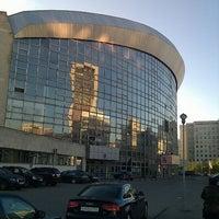 Photo taken at Бассейн «Олимпийский» by Алексей Р. on 5/10/2012