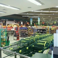 Photo taken at Supermercados Nacional by Nelson G. on 3/2/2012