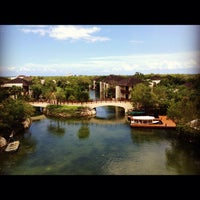 Photo taken at Fairmont Mayakoba by Leticia G. on 5/22/2012