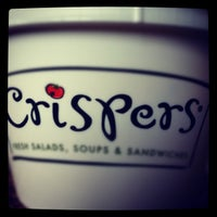 Photo taken at Crispers Fresh Salads, Soups and Sandwiches by 👷 Dr Hoolin 🚑 on 6/3/2012