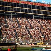 Photo taken at Atlanta Motor Speedway by Jose S. on 9/1/2012