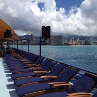 Photo taken at Waikiki Ocean Club by Brian C. on 8/22/2012