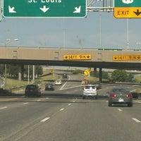 Photo taken at Missouri/Kansas Border by Craig B. on 7/7/2012