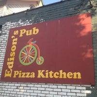 Photo taken at Edison's Pub by Melanie L. on 7/25/2012