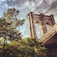 Photo taken at Under The Brooklyn Bridge by Ron V. on 8/12/2012