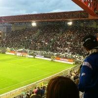 Photo taken at Stadio Nereo Rocco by Giu V. on 5/6/2012