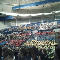 Photo taken at Crown Coliseum by T. K. on 8/21/2012