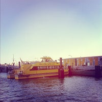 Photo taken at NY Waterway Ferry - Wall St/Pier 11 Terminal by Emma C. on 4/29/2012