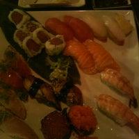 Photo taken at Yen Sushi Karaoke & Lounge by Stephanie S. on 2/10/2012