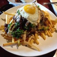 Photo taken at Bachi Burger by Chantal D. on 2/19/2014