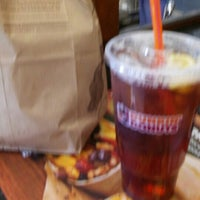 Photo taken at Dunkin Donuts by Bianca B. on 4/21/2016