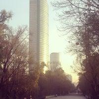Photo taken at Torre Mayor by Rodolfo J. on 1/11/2013