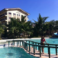 Photo taken at Agus hotel by Michelle S. on 3/9/2014