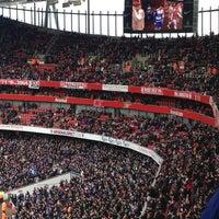 Photo taken at Emirates Stadium by Jim K. on 3/30/2013
