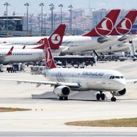 Photo taken at Istanbul Atatürk Airport (IST) by Levent D. on 7/25/2013