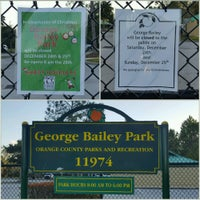 Photo taken at George Bailey Park by David L. on 12/24/2016