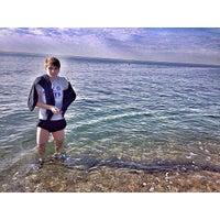 Photo taken at Дикий Пляж by Ruslan S. on 11/19/2014