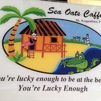 Photo taken at Sea Oats Cafe by Christina J. on 8/5/2014