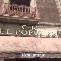 Photo taken at Café El Popular by Julk Y. on 3/10/2013