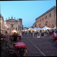 Photo taken at Piazza Sordello by Giovanni B. on 7/7/2013