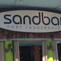 Photo taken at SandBar by Sarah C. on 10/5/2013