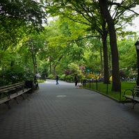 Photo taken at Madison Square Park by Jeffrey Z. on 5/28/2013