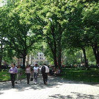 Photo taken at Madison Square Park by Jeffrey Z. on 5/21/2013