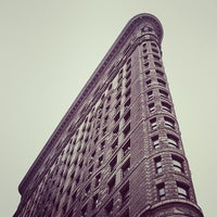 Photo taken at Flatiron Building by Jeffrey Z. on 5/22/2013
