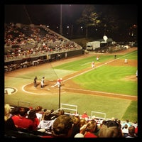 Photo taken at Foley Field by Andy M. on 4/10/2013