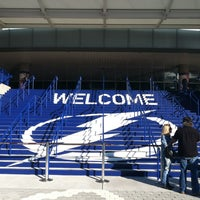 Photo taken at Amalie Arena by Vickie M. on 1/27/2013