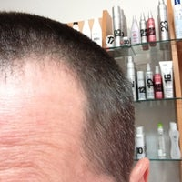 Photo taken at Hoboken Buzz Cuts by Bill H. on 10/28/2012
