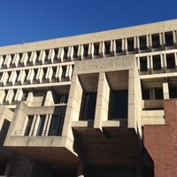 Photo taken at Boston City Hall by Bill H. on 11/22/2012