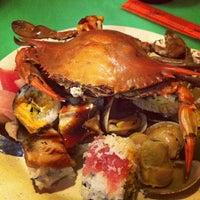Photo taken at Sakura Seafood Buffet by Elenka S. on 7/15/2013