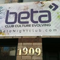 Photo taken at Beta Nightclub by Sarah on 12/22/2012