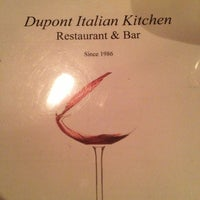 Photo taken at Dupont Italian Kitchen by Will S. on 5/14/2013