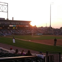 Photo taken at PeoplesBank Park by Tom O. on 6/22/2013