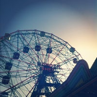 Photo taken at Luna Park by Chrysanthe T. on 10/20/2012